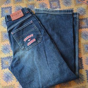 RARE vintage Tommy wide leg jeans